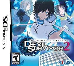 Shin Megami Tensei: Devil Survivor 2 NDS Cover Art