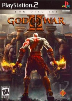 God of War II PS2 Cover Art