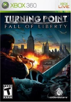 Turning Point: Fall of Liberty XB360 Cover Art