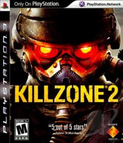 Killzone 2 PS3 Cover Art
