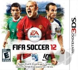 FIFA Soccer 12 3DS Cover Art