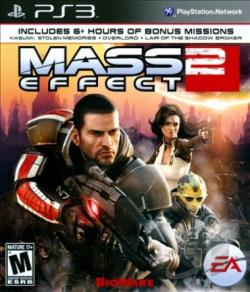 Mass Effect 2 PS3 Cover Art