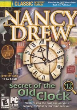 Nancy Drew: Secret Of The Old Clock PCG Cover Art