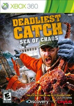 Deadliest Catch: Sea of Chaos XB360 Cover Art