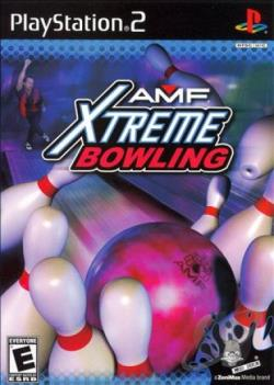 AMF Xtreme Bowling PS2 Cover Art