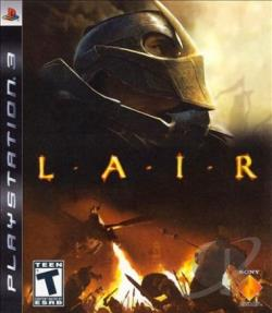 Lair PS3 Cover Art