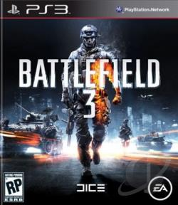 Battlefield 3 PS3 Cover Art