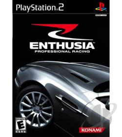 Enthusia Professional Racing PS2 Cover Art