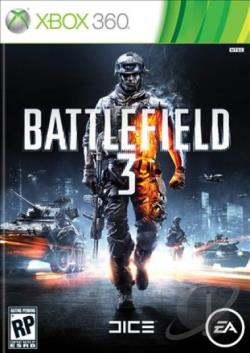 Battlefield 3 XB360 Cover Art