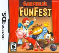 Garfield's Fun Fest NDS Cover Art
