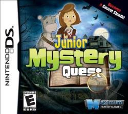 Junior Mystery Quest NDS Cover Art