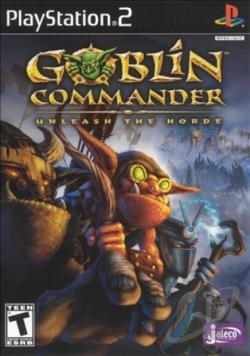 Goblin Commander: Unleash the Horde PS2 Cover Art