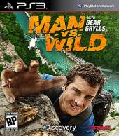 Man vs. Wild With Bear Grylls PS3 Cover Art