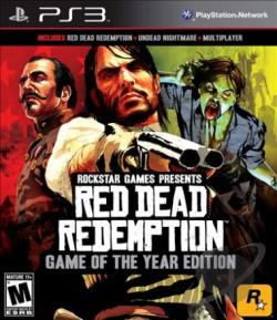 Red Dead Redemption: Game of the Year Edition PS3 Cover Art