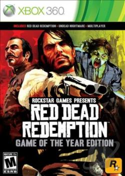 Red Dead Redemption: Game of the Year Edition XB360 Cover Art