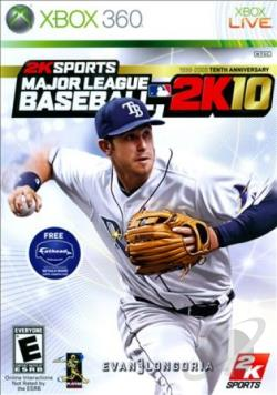 Major League Baseball 2K10 XB360 Cover Art