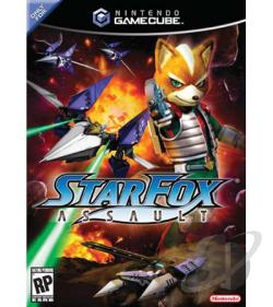 Star Fox Assault GQ Cover Art