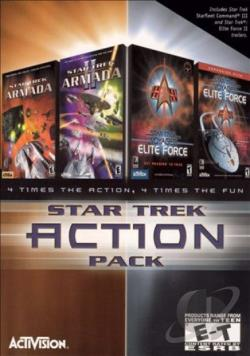 Star Trek Action Pack W95 Cover Art