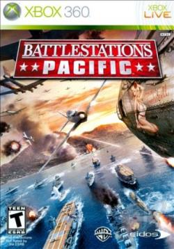 Battlestations: Pacific XB360 Cover Art