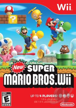 New Super Mario Bros. WII Cover Art