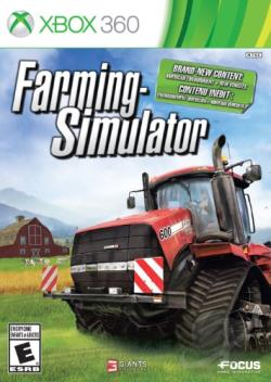 Farming Simulator XB360 Cover Art