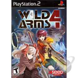 Wild Arms 4 PS2 Cover Art