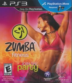 Zumba Fitness PS3 Cover Art