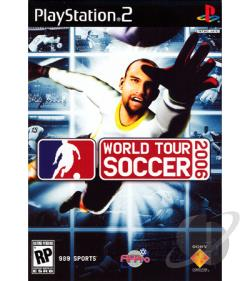 World Tour Soccer 2006 PS2 Cover Art