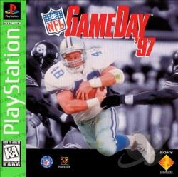 NFL Gameday 97 PS Cover Art