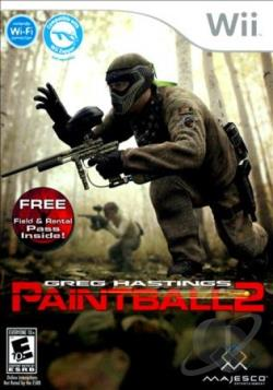 Greg Hastings Paintball 2 WII Cover Art