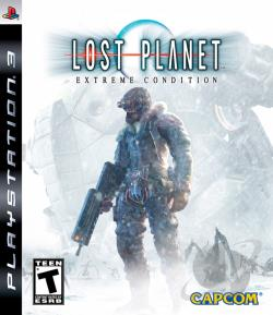 Lost Planet: Extreme Condition PS3 Cover Art
