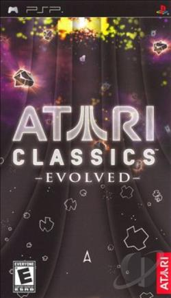 Atari Classics: Evolved PSP Cover Art