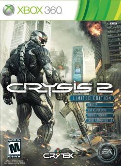 Crysis 2 XB360 Cover Art