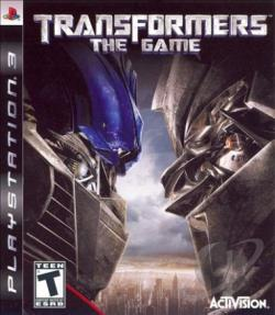 Transformers: The Game PS3 Cover Art