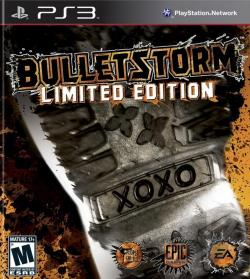 Bulletstorm PS3 Cover Art