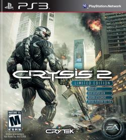 Crysis 2 PS3 Cover Art