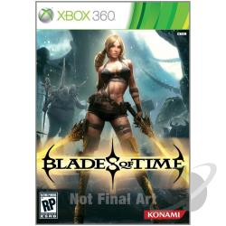 Blades of Time XB360 Cover Art