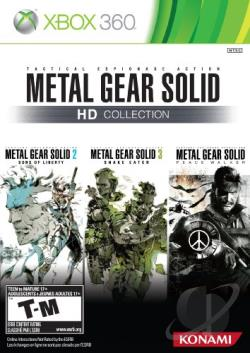 Metal Gear Solid HD Collection XB360 Cover Art