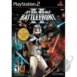 Star Wars: Battlefront II PS2 Cover Art
