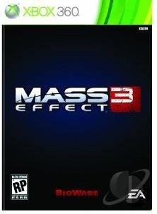 Mass Effect 3 XB360 Cover Art