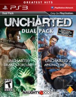 Uncharted Dual Pack PS3 Cover Art