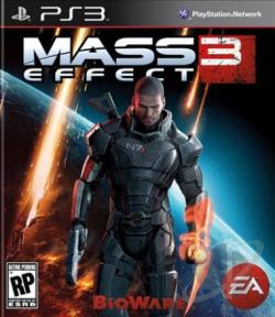 Mass Effect 3 PS3 Cover Art