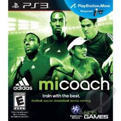 Micoach By Addidas PS3 Cover Art