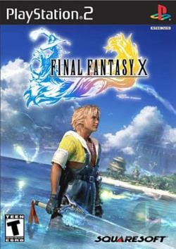 Final Fantasy X PS2 Cover Art