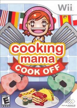 Cooking Mama: Cook Off WII Cover Art