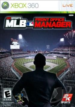 MLB Front Office Manager XB360 Cover Art