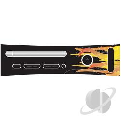 XBox 360 Faceplate - Flames XB360 Cover Art
