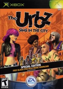 Urbz: Sims in the City XB Cover Art