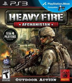 Heavy Fire: Afghanistan PS3 Cover Art