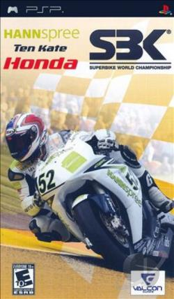 Hannspree Ten Kate Honda SBK Superbike World Championship PSP Cover Art